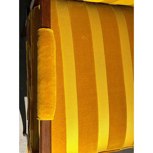 Canary Yellow Mid-Century Modern Six Tommi Parzinger Dining Chairs, Originals For Sale - Image 8 of 13
