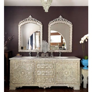 Mother of Pearl Inlay Bathroom Vanity Preview