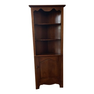 1920s Arts and Crafts Solid Wood Corner Piece For Sale