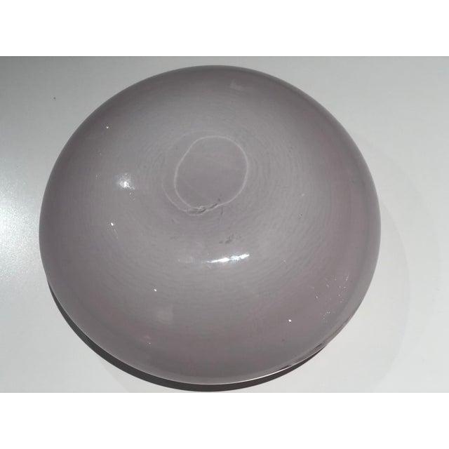 Italian Vintage Murano Glass Bowl Attributed to Seguso Vetri d'Arte, 1950s For Sale - Image 6 of 13