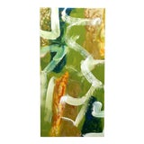 Image of Colorful Abstract Acrylic Painting For Sale