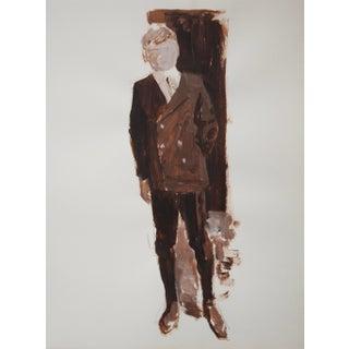 1960s Men's Fashion Painting