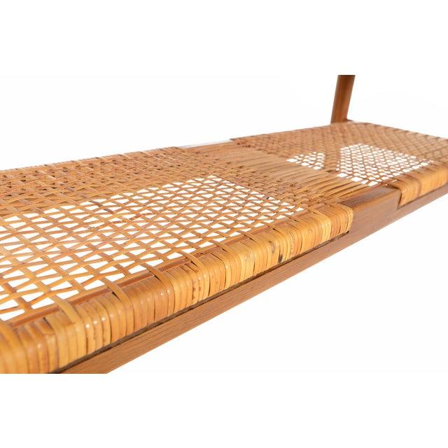 Danish Modern Teak Surfboard Coffee Table - Image 6 of 8
