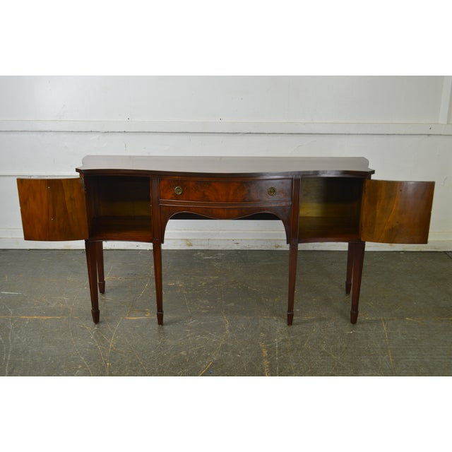 Federal B. Altman & Co. New York Vintage Mahogany Federal Style Sideboard For Sale - Image 3 of 13