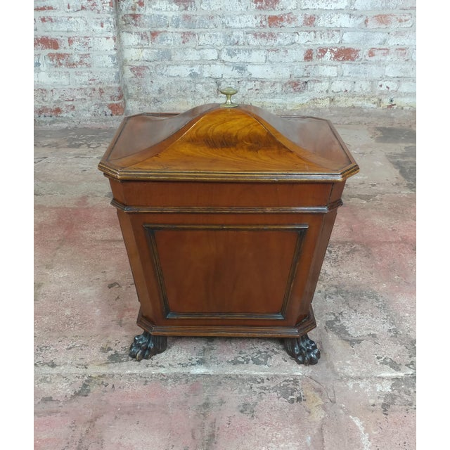 19th c. Fabulous English Regency Mahogany Wine Cellarette 1820s For Sale - Image 9 of 9