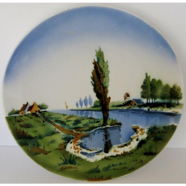 German Ceramic Wall Plate - Image 2 of 4