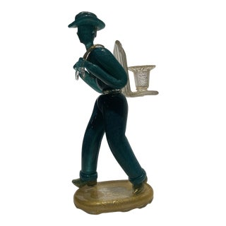 1960s Venetian Candle Holder For Sale