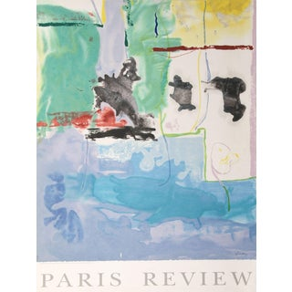 Helen Frankenthaler, Paris Review (Westwind), Offset Lithograph