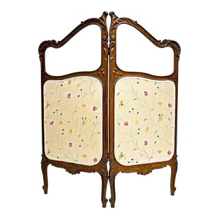 French Louis XV Style Dressing Screen For Sale