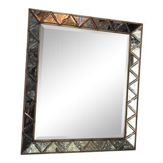 Sanctuary Antique Mirror & Gold Rectangular Mirror