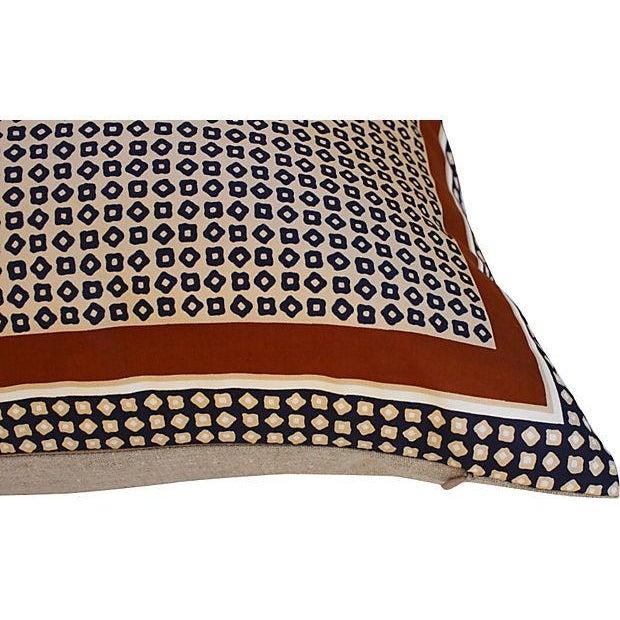 Yves Saint Laurent YSL 1970s Silk Scarf Pillow - Image 2 of 5