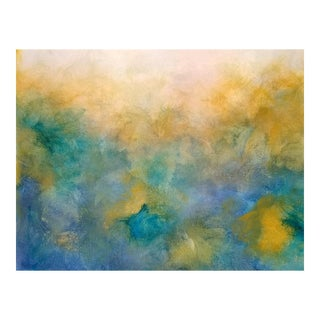 Abstract Original Painting, Watercolor Morning For Sale