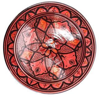 Atlas Moroccan Pedestal Plate