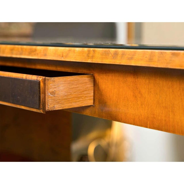 Art Nouveau Satinwood Sofa Table For Sale In New York - Image 6 of 10