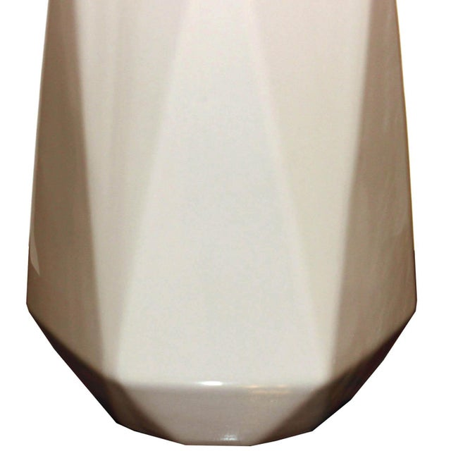 Taupe Modern Ceramic Small Vase Chairish