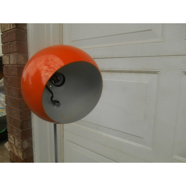 Mid Century Modern Atomic Eyeball Floor Lamp - Image 5 of 5