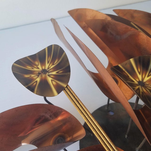 Mid 20th Century Mid 20th Century Unmarked Curtis Jere Wall Sculpture For Sale - Image 5 of 11