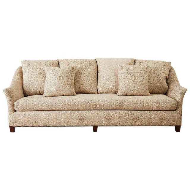 Jonas New York Bruxelles Four Seat Upholstered Sofa For Sale - Image 13 of 13