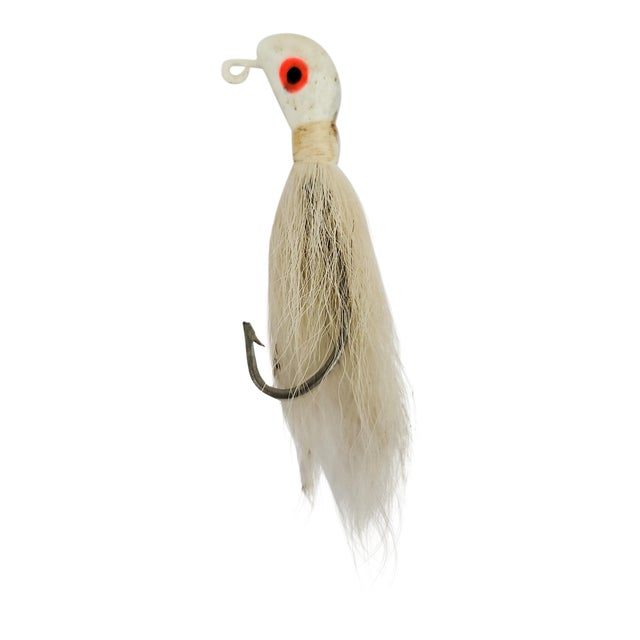 Vintage White Fishing Lure For Sale
