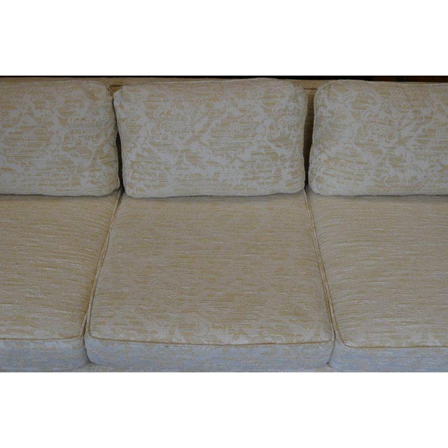 Sofa From Flair Midcentury in Blended Cotton Felt For Sale In Madison - Image 6 of 13