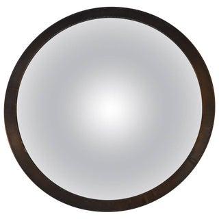 Convex Brass Mirror For Sale