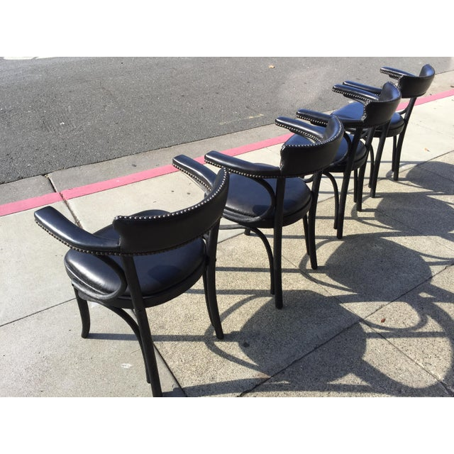Restoration Hardware 4 Restortation Hardware Dining Chairs Vienna Cafe For Sale - Image 4 of 6