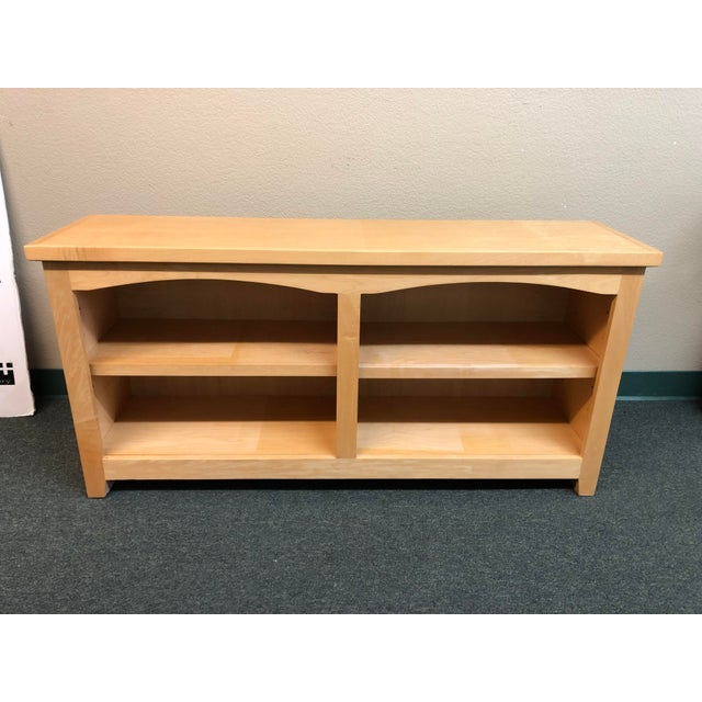Designer Plus Gallery presents a Double Arch Shaker Style Bookcase by Sanders Fine Furniture. Shaker style details and...
