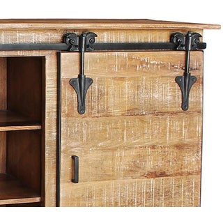 Salvaged Bar Cabinet Preview