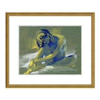 Figure 5 by David Orrin Smith in Gold Frame, Medium Art Print For Sale
