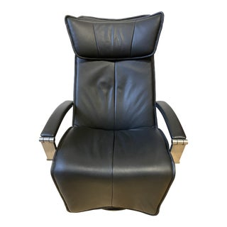 Fiords Contura Leather Recliner For Sale