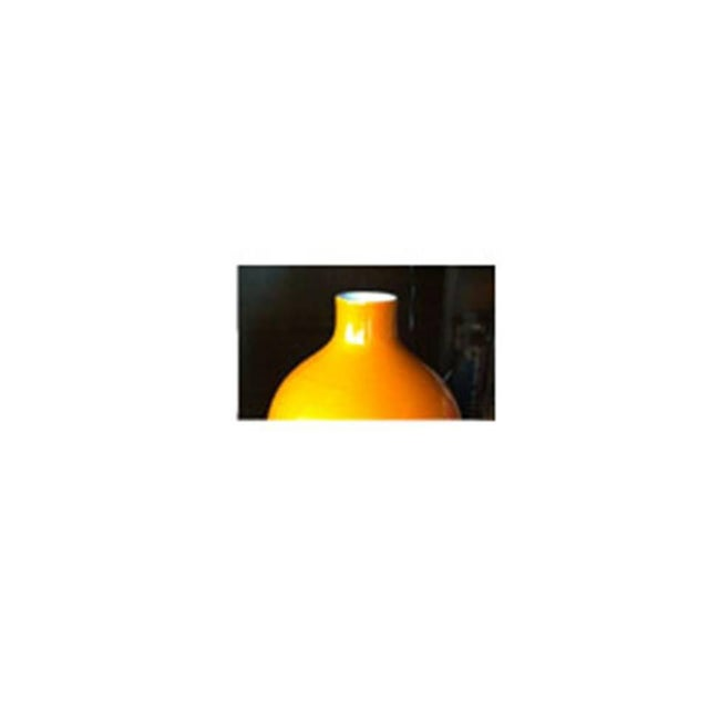 Orange Floor Vase - Image 3 of 3