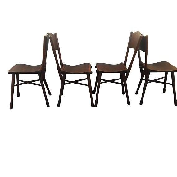 Excellent set of 4 antique Thonet garden chairs ( garten sessel) . C 1890, by Gebruder Thonet; Wien (Vienna), Chairs...