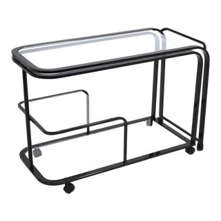 Expandable Bar or Serving Cart by d.i.A. For Sale