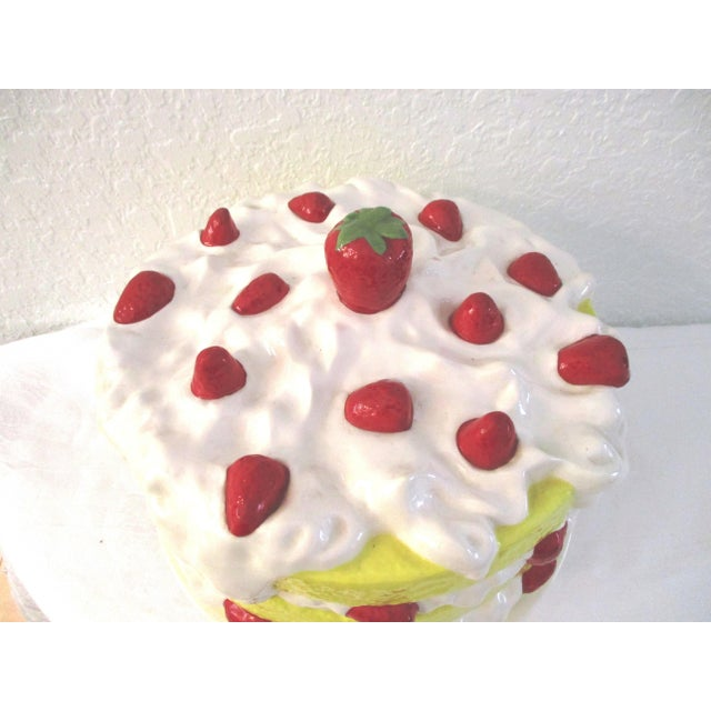 1980s Vintage Strawberry Shortcake Cake Plate For Sale - Image 5 of 8