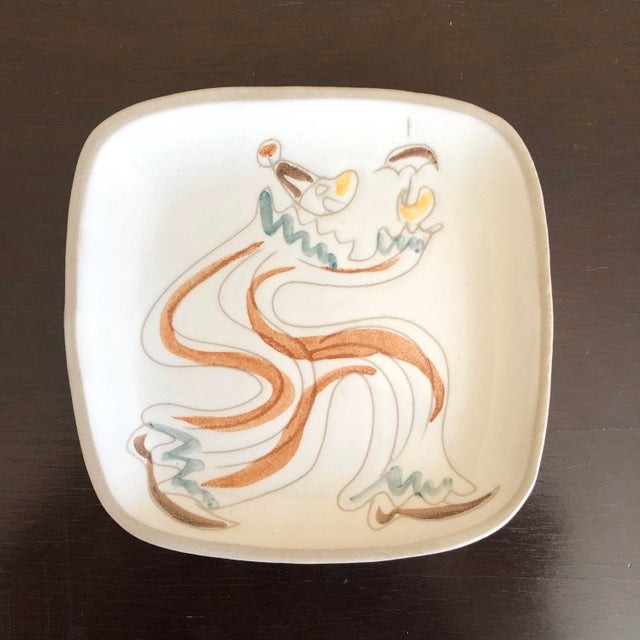Mid Century Glidden Pottery Circus Plates - Set of 6 For Sale In Buffalo - Image 6 of 9