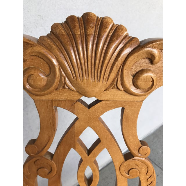20th Century Boston Style Chippendale Mahogany Ball and Claw Foot Chairs - Set of 8 For Sale - Image 10 of 13