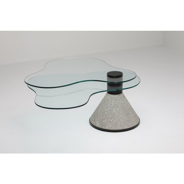 Memphis Postmodern Coffee Table in the Manner of Saporiti - 1980s For Sale - Image 3 of 10