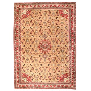 Antique 19th Century Oversize Indian Agra Carpet For Sale