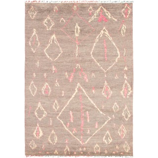 """Hand-Knotted Moroccan Style Rug-8'11"""" X 12'6"""" For Sale"""