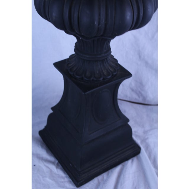 Gothic 20th Century Gothic Column Table Lamp For Sale - Image 3 of 6