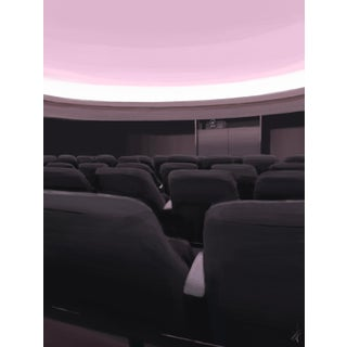 """Once in a Planetarium"" Contemporary Interior Scene Print For Sale"