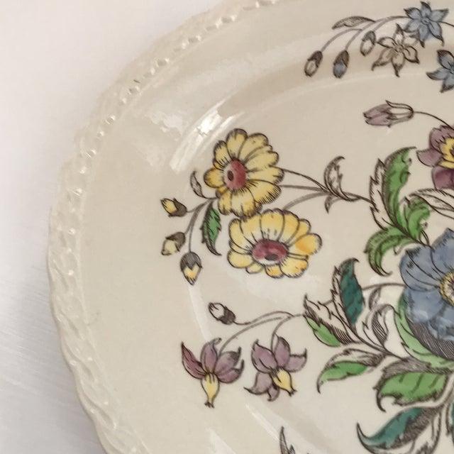 """1940s 1940s American Classical Vernon Kilns """"Mayflower"""" Platter For Sale - Image 5 of 9"""