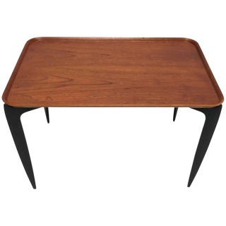 Willumsen & Engholm for Fritz Hansen Rectangular Tray Table For Sale