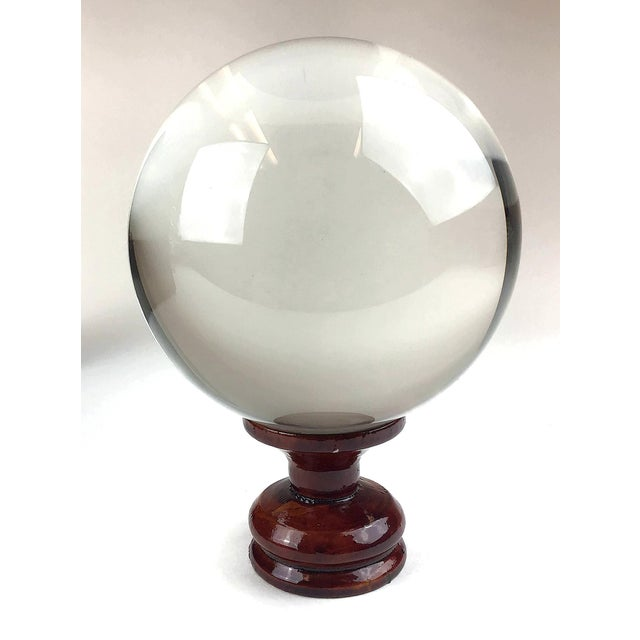 1970s X-Large Crystal Ball For Sale - Image 11 of 11