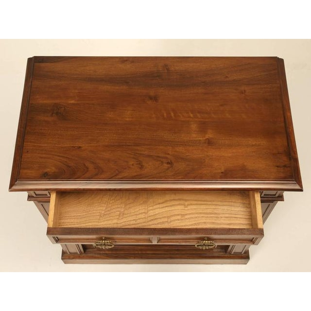Brown French Walnut Buffet For Sale - Image 8 of 10