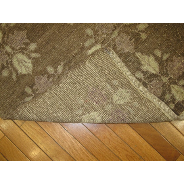 Small Vintage Handmade Rug - 3′5″ × 5′5″ - Image 4 of 5
