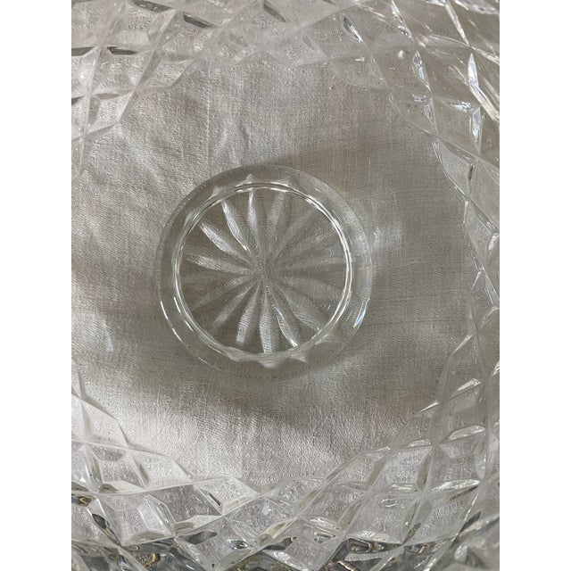 Waterford Waterford Crystal Footed Bowl, Lismore Pattern For Sale - Image 4 of 8