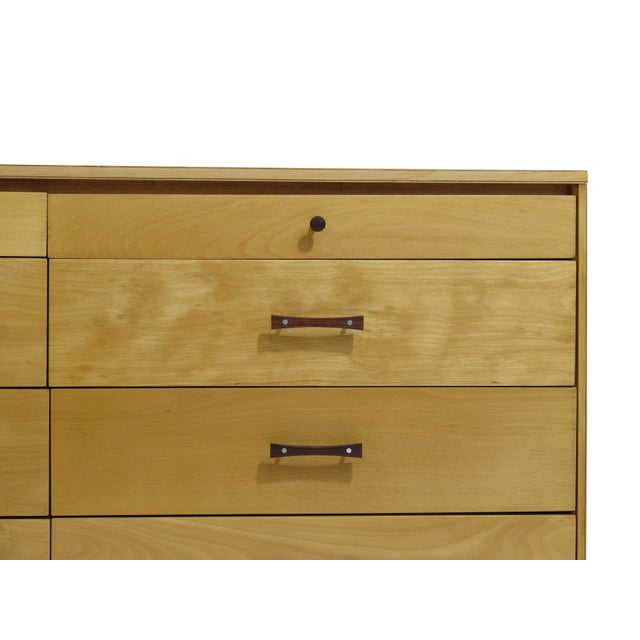 Perimeter Group dresser set (2) by Paul McCobb for the Winchendon Furniture Company. Beech with rosewood and aluminum...
