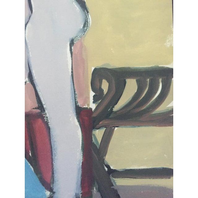 1940s-50s Bay Area Figurative Female Nude - Image 5 of 7