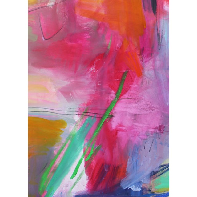 """Abstract """"Uluru"""" by Trixie Pitts Extra-Large Abstract Landscape Painting For Sale - Image 3 of 11"""